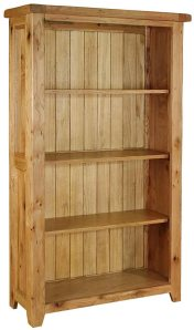 empty bookcase