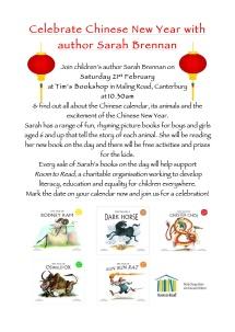 Tim's Bookshop CNY Event 21 Feb 2015