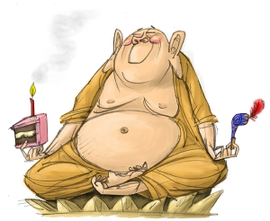 Harry's Buddha's Birthday greetings