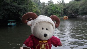 Rodney and the pedal boats, Yuexiu Park