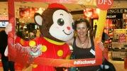 Singapore Changi Airport Monkey