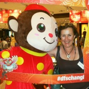 Singapore Changi Airport Monkey