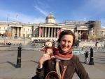 In Trafalgar Square withMum