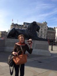 Those Trafalgar Lions...