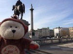 Trafalgar Square with Nelson'sColumn