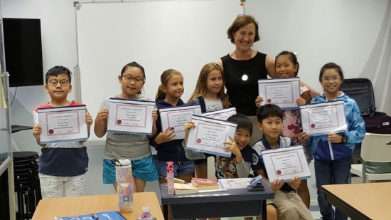 whole class with certificates