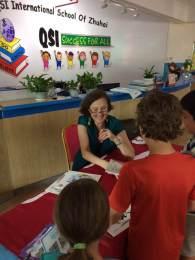 QSIZ book signing