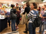 A busy booksigning #1