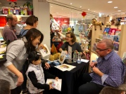 A busy booksigning #2