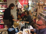 A busy booksigning #3