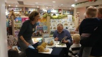 A busy booksigning#4