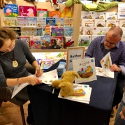 A busy booksigning #
