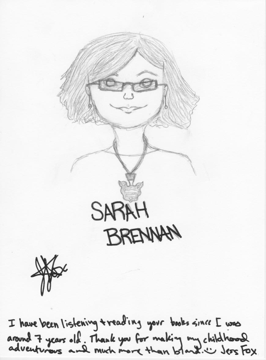 Jess Fox sketch