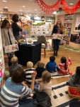 Story reading with my 2girls!