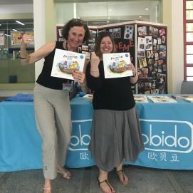 With Grade 3 Co-ordinator Rachael Taylor