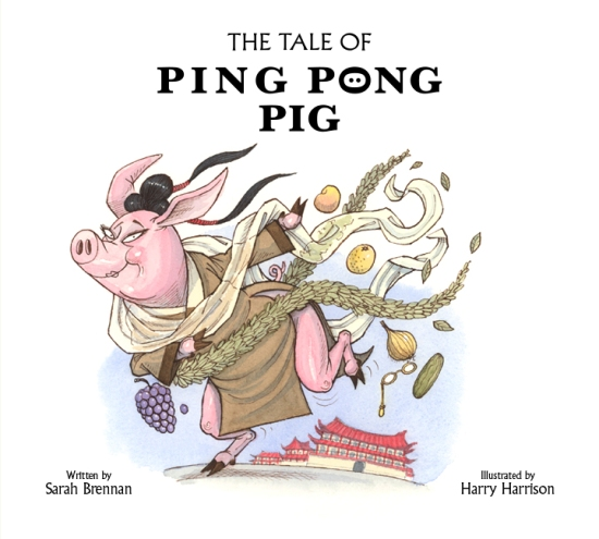 cover image - tale of ping pong pig