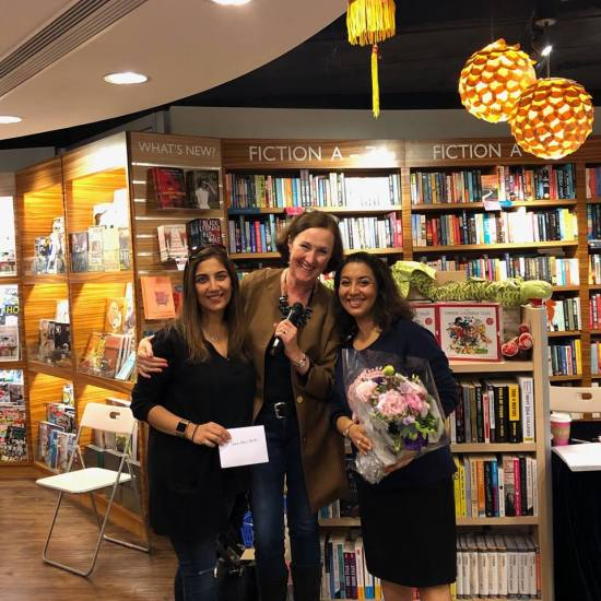 me with arti and shonee mirchandani, bookazine launch jan 2019