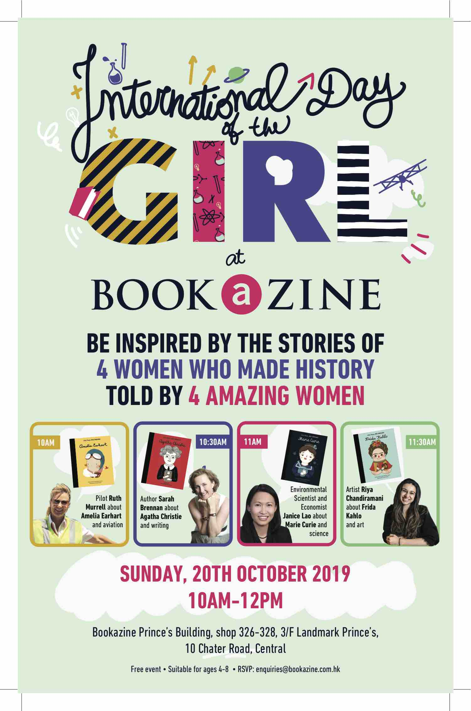 International Day of the Girl at Bookazine