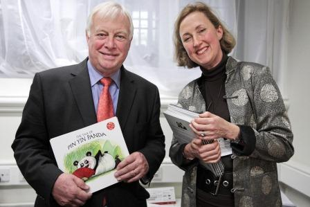 Lord Patten of Barnes meets with Author of  Pin Yin Panda