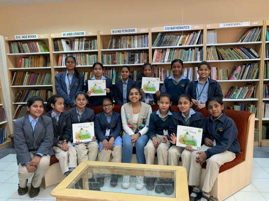 Sisterhood of Readers, Salwan Public School, Delhi